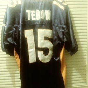 Tim Tebow Onfield Denver Bronco Jersey